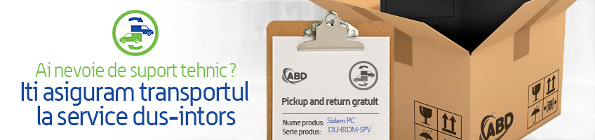 Pickup & Return gratuit