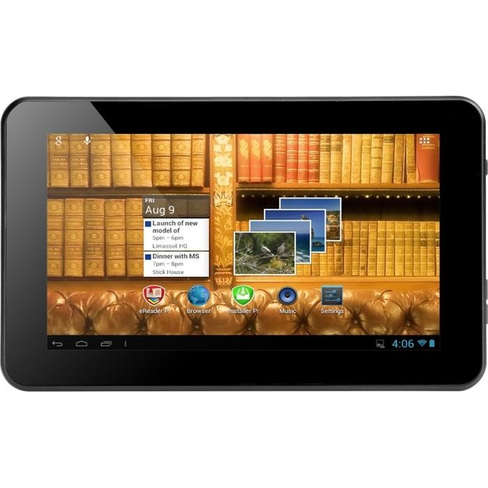 MultiReader PER5474BC 7inch with Android 4.1 ICS OS