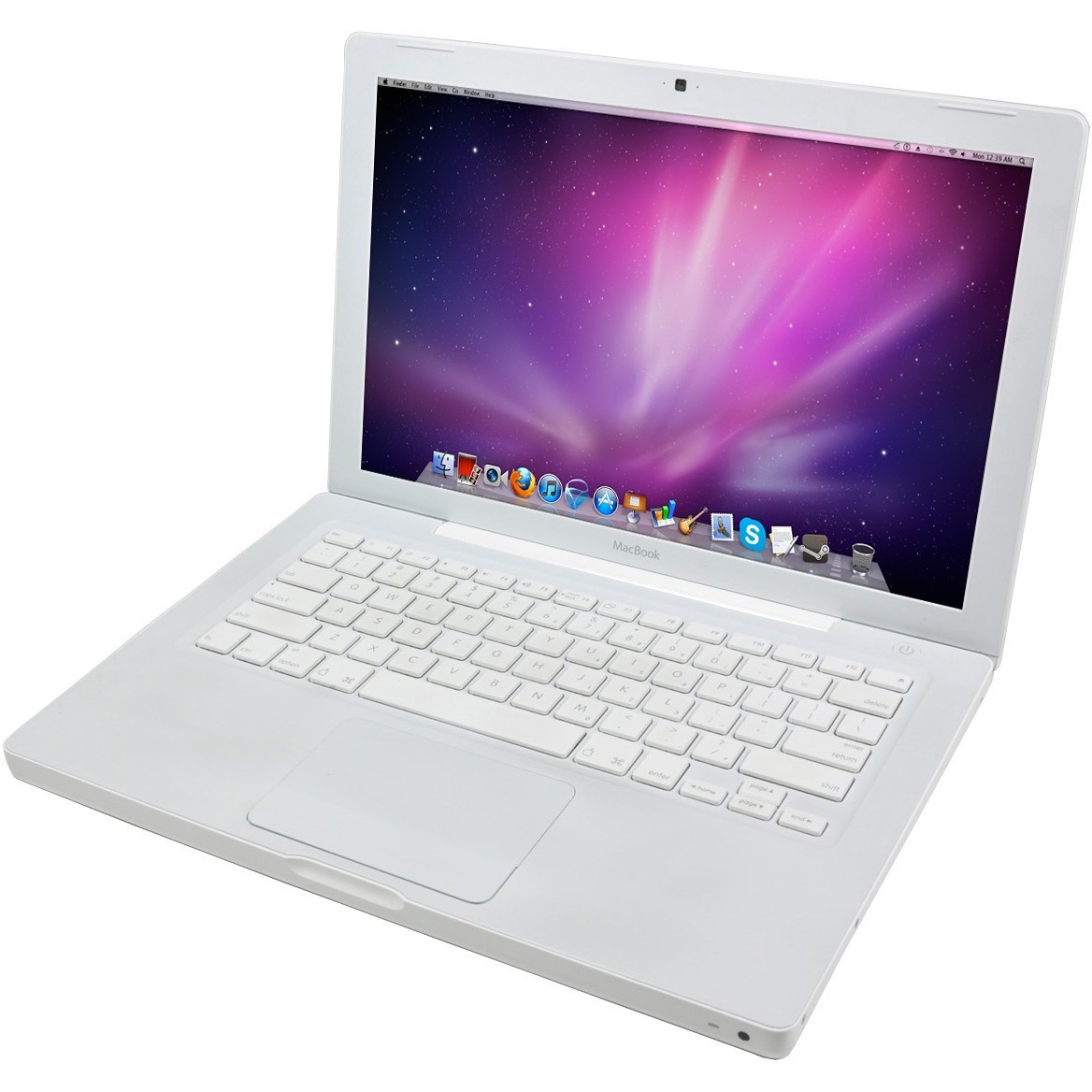 Laptop Second Hand Macbook A1181 T8100  2.1ghz 2gb Ddr2 120gb Sata Dvd Intel Gma X3100 13.3inch Webcam