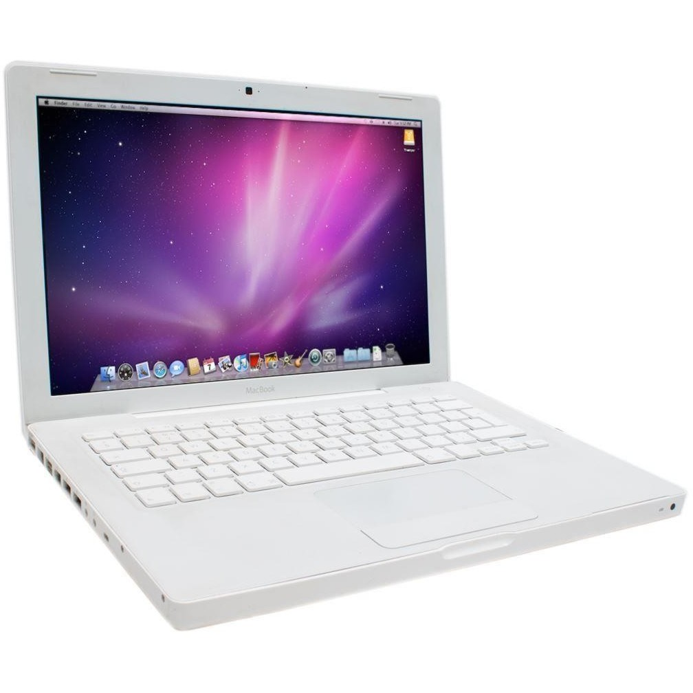Laptop Second Hand Macbook A1181 T8100 2.1ghz 2gb Ddr2 160gb Sata Dvd Intel Gma X3100 13.3inch Webcam