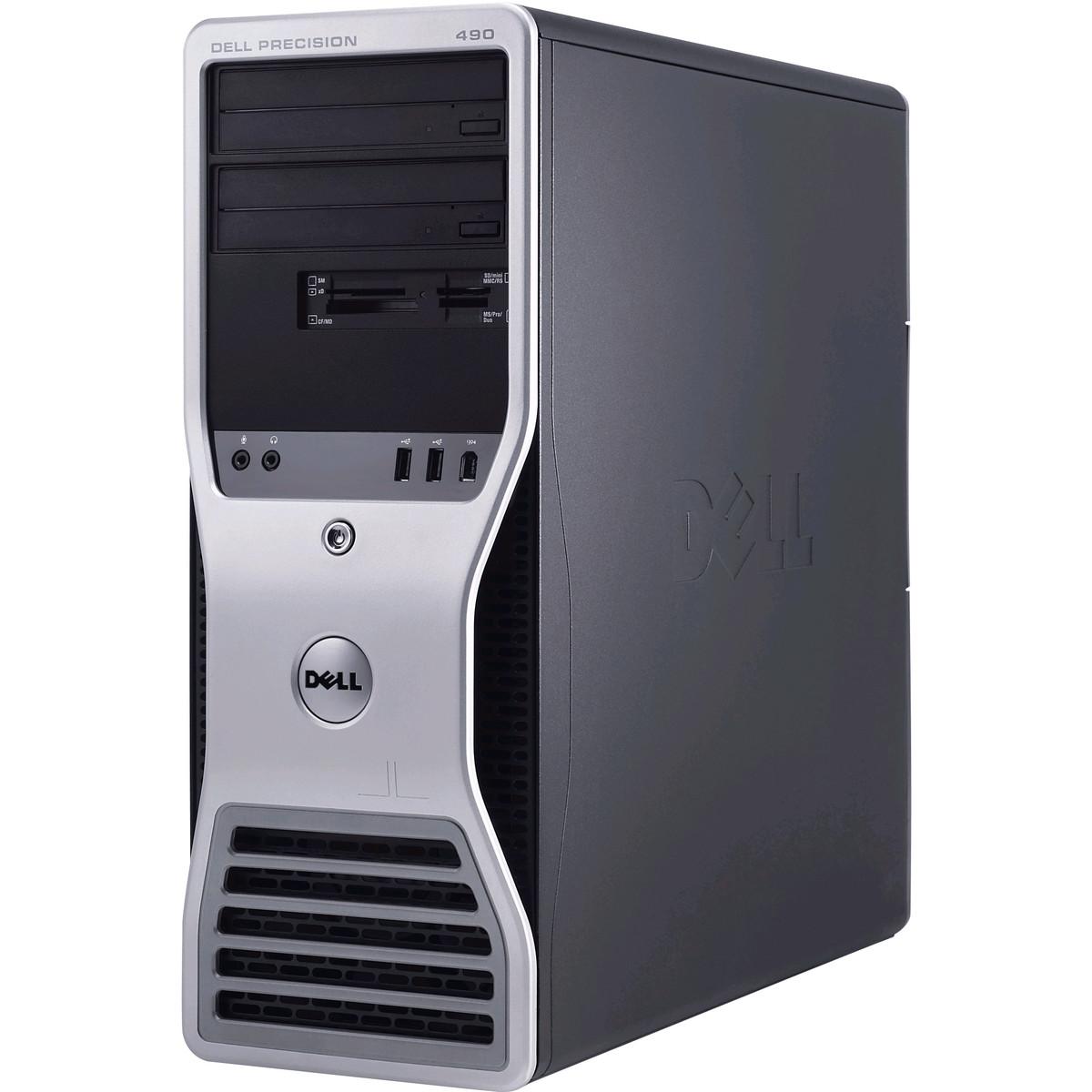 Calculator second hand Precision 490 2 x Xeon 5130 2.0GHz 4GB DDR2 320GB ( 160x160GB) DVD NVIDA QUADRO FX580 Tower
