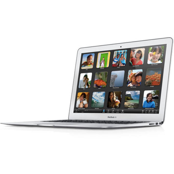 Laptop Second Hand Macbook Air 5.2 (mid 12) I5-3317u 1700mhz 4096mb 60 Ssd Webcam 13inch Grad B